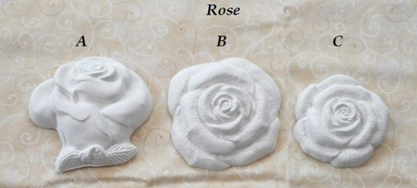 Rose in Gesso Profumato
