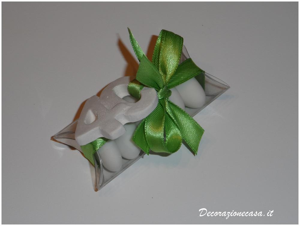 Estremamente Mini tubo confetti bomboniera 40 anni | Francesca Bomboniere MY86