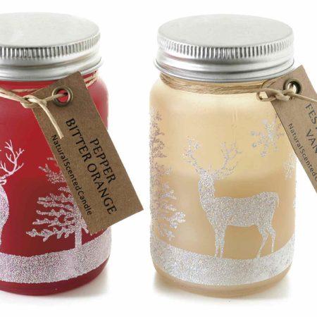 barattolo-natalizio-candele